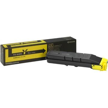 Lazerinė kasetė Kyocera TK-8305Y   geltona