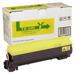 Lazerinė kasetė Kyocera TK-570Y   geltona