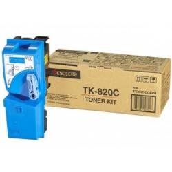 Lazerinė kasetė Kyocera TK-820C | žydra