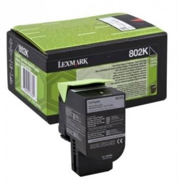 Lazerinė kasetė Lexmark 80C20K0 (802K) | juoda