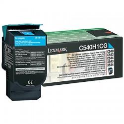 Lazerinė kasetė Lexmark C540H1CG | didelės talpos | žydra