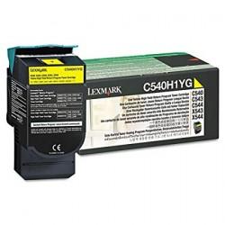 Lazerinė kasetė Lexmark C540H1YG | didelės talpos | geltona