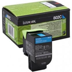 Lazerinė kasetė Lexmark 80C20C0 (802C) | žydra