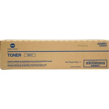 Lazerinė kasetė Konica Minolta A202051 / TN217 | juoda