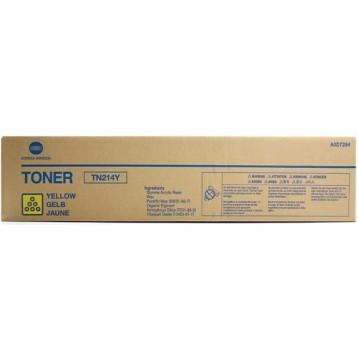 Lazerinė kasetė Konica Minolta A0D7254 / TN214Y | geltona