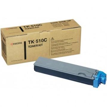 Lazerinė kasetė Kyocera TK-510C | žydra