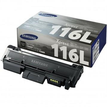 Lazerinė kasetė Samsung MLT-D116L   didelės talpos   juoda