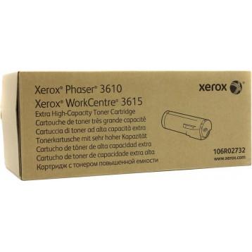 Lazerinė kasetė Xerox 106R02732 | juoda