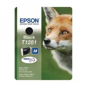 Rašalinė kasetė Epson T1281   juoda