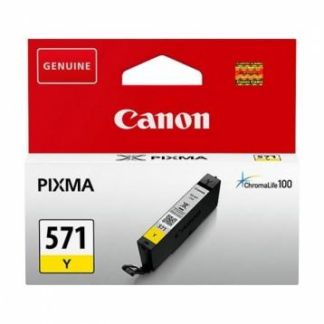 Rašalinė kasetė Canon CLI-571Y   geltona