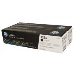 Lazerinė kasetė HP CE310AD (126A)   2 vnt. pakuotė   juoda