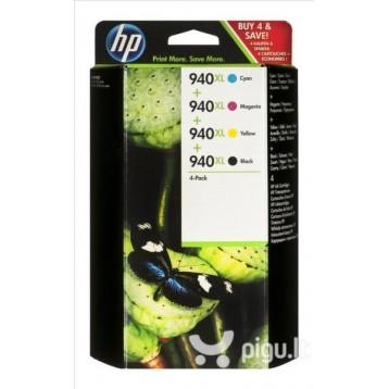 Rašalinių kasečių komplektas HP C2N93AE (Nr. 940XL) | 4 spalvos