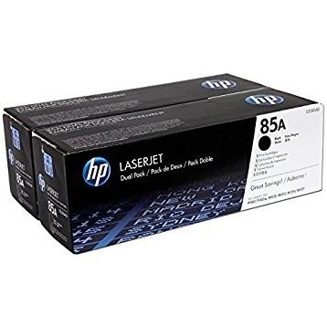 Lazerinė kasetė HP CE285AD | 2 vnt. pakuotė | juoda