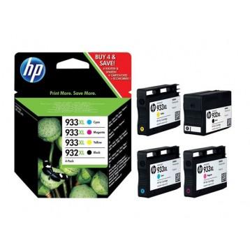 Rašalinių kasečių komplektas HP C2P42AE (Nr. 933XL + Nr. 932XL) | 4 spalvos