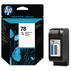 Rašalinė kasetė HP C6578DE (Nr. 78) | trispalvė