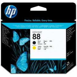 Spausdintuvo galvutė HP C9381A (Nr. 88) | juoda ir geltona