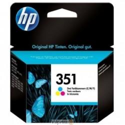 Rašalinė kasetė HP CB337EE (Nr. 351)   trispalvė