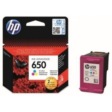 Rašalinė kasetė HP CZ102AE (Nr. 650)   trispalvė