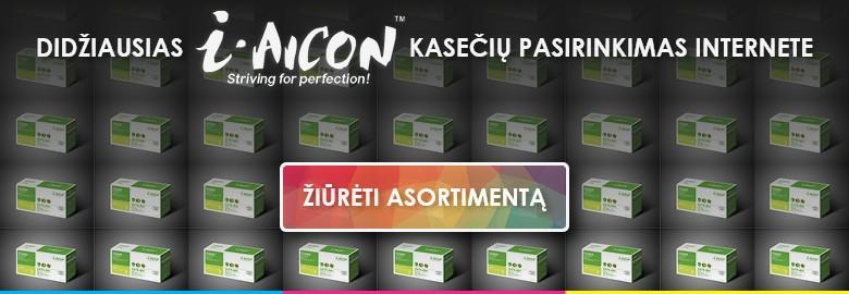 i-AIcon spausdintuvų kasetės